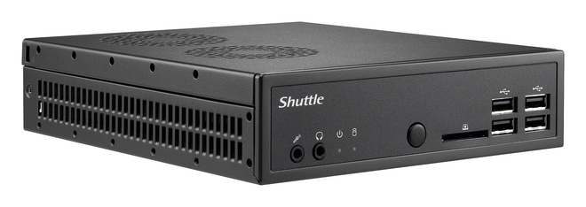 Shuttle presenta il mini PC Barebone DS81 da 43 mm